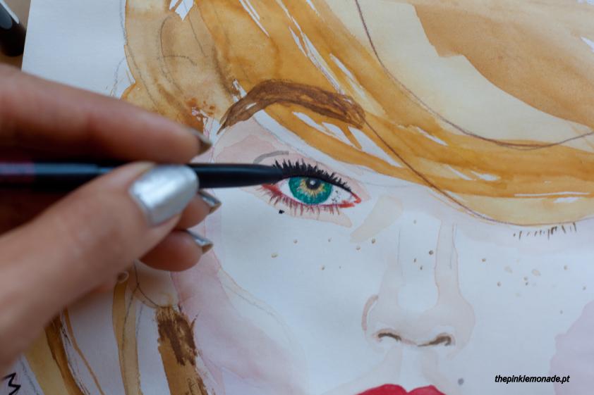 gigi-hadid-maquilhagem-makeup-maybelline-100-years-illustration-marta-alves-the-pink-lemonade-1 0