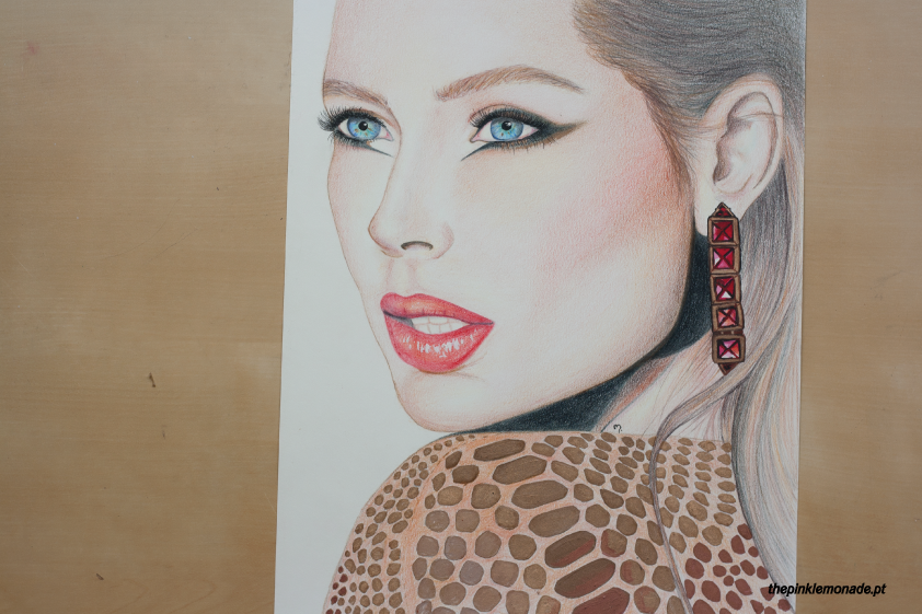loreal-paris-doutzen-kroes-makeup-maquilhagem-christamas-extravaganza-illustration-marta-alves-the-pink-lemonade-8
